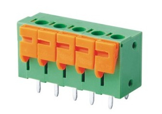 China PCB Spring Terminal Block 5.08/7.62mm