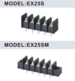 7.62mm Barrier Terminal Blocks