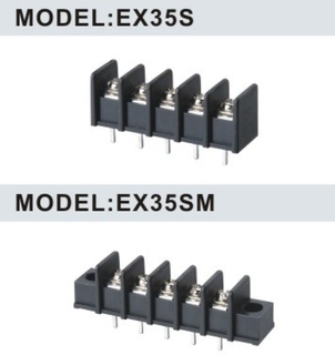 EX35S/EX35SM 8.25mm Barrier Strip Terminal Block