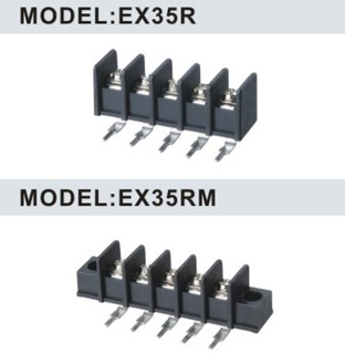 EX35R/EX35RM 8.25mm Barrier Strip Terminal Block